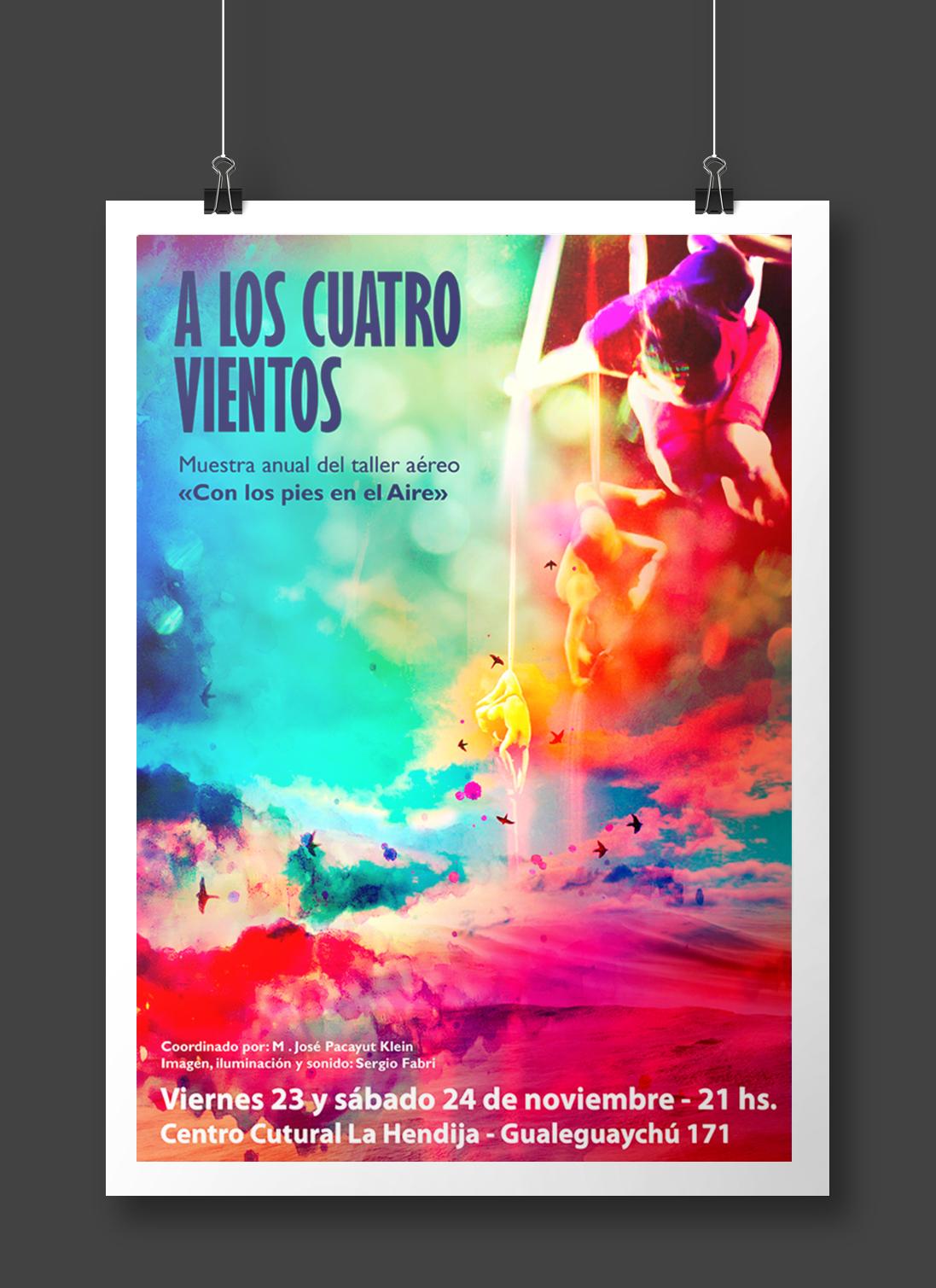 diseño afiche